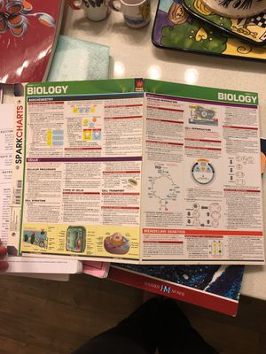 Biology Spark Notes for Sale in Fairfax, VA