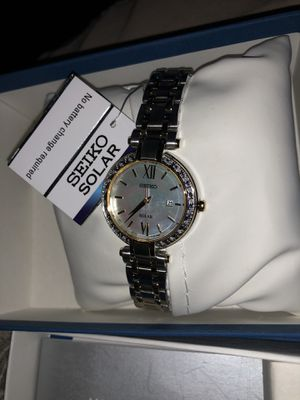 Seiko solar watch SUT198 for Sale in Washington, DC