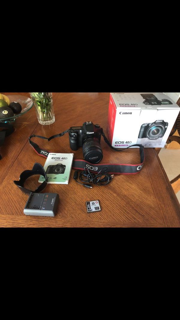 40D canon with EF 28-135 IS lens for Sale in El Cajon, CA - OfferUp