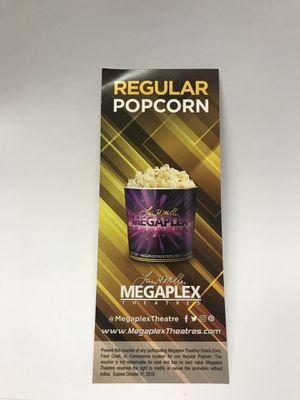Popcorn Vouchers for Sale in Salt Lake City, UT