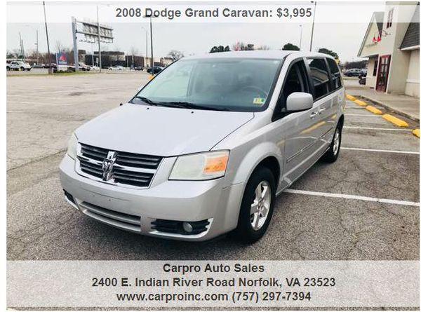 2008 Dodge Grand Caravan Sxt For Sale In Chesapeake Va Offerup