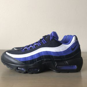 New Nike Air Max 95 Essentials Men's Size 11 Black Violet for Sale in Long Beach, CA OfferUp