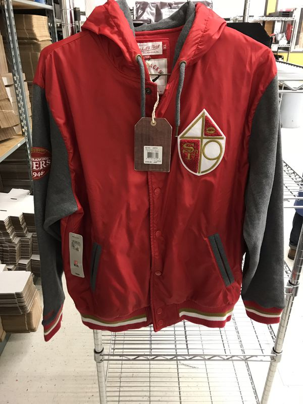 competitive price abf57 f6523 San Francisco 49ers Mitchell and Ness jacket size XL for Sale in San Jose,  CA - OfferUp