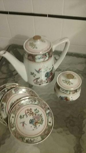 Vintage Chinese Tea Set for Sale in Philadelphia, PA