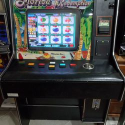 Cherry Master Redemption Full Size Machine With Keys Thumbnail