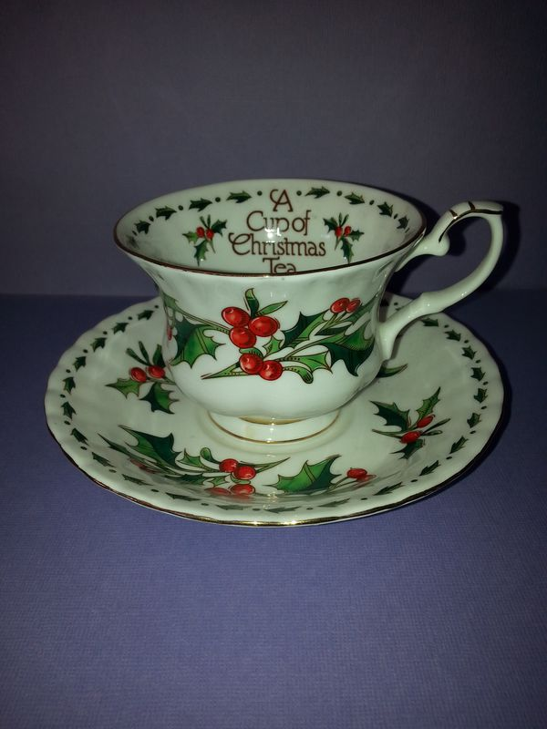 a cup of christmas tea antiques in corona ca offerup