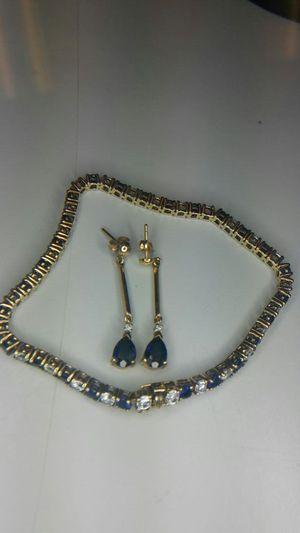 Jewelry Set earrings-braclet for Sale in Orlando, FL