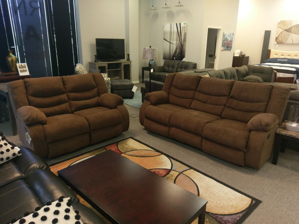 Chocolate Reclining sofa Set NEW