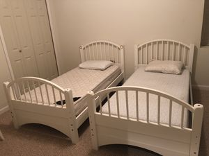 Twin bed frames/mattress included for Sale in Merrifield, VA