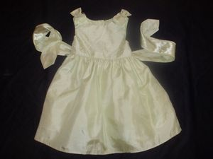 Photo Brooke Lindsay Girls 4T Celery Green Spring Easter Party Special Occasion Dress