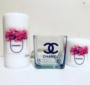 Fashion designer candles set for Sale in Waterbury, CT