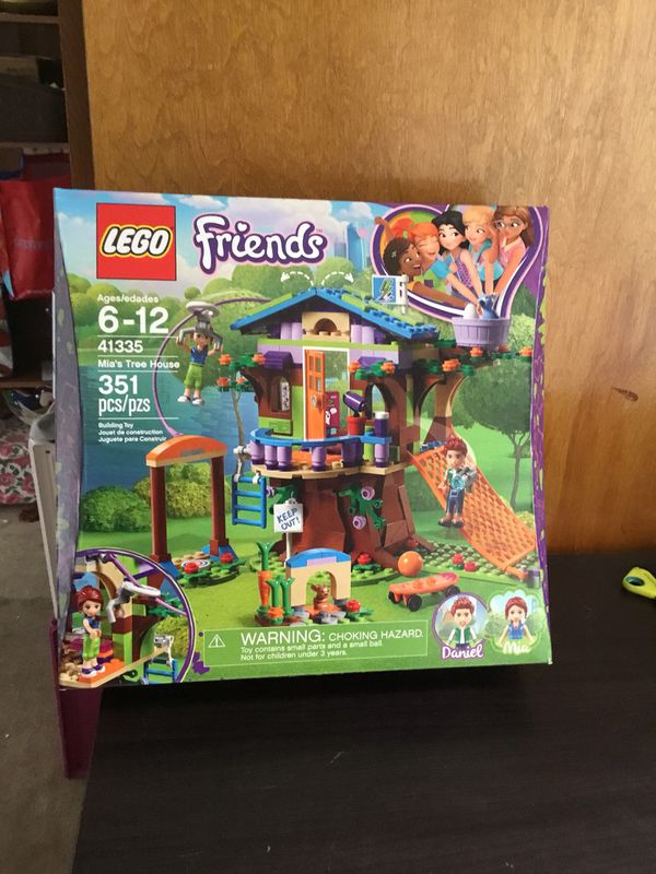 Lego Friends Mias Tree House Building Set 41335 For Sale In