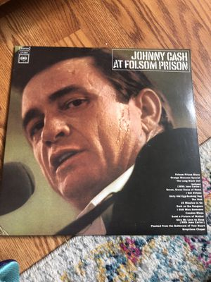 Vinyl Johnny Cash at Folsom Prison for Sale in Philadelphia, PA