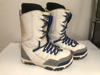 ThirtyTwo True Blue 3 Jordan Snowboard Boots Sz 10 Mens Thumbnail
