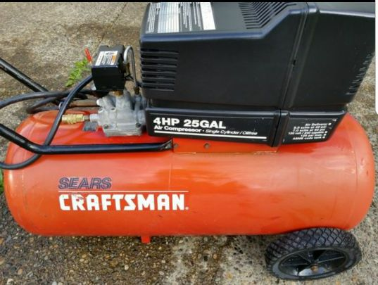 Craftsman 4hp 25 Gallon Air Compressor For Sale In Gresham Or Offerup