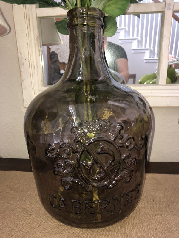 New Brown Glass Vase Not Flowers For Sale In San Antonio Tx Offerup