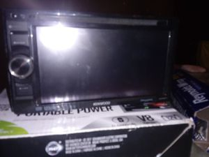 Kenwood double din whole set up for Sale in Las Vegas, NV