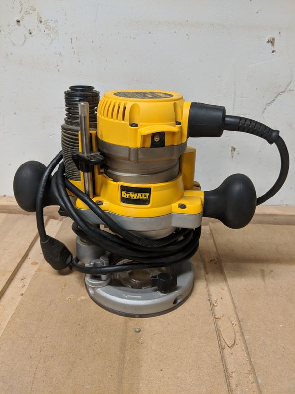 Dewalt dw616 router kit with plung base for sale in chicago il open in the appcontinue to the mobile website keyboard keysfo Image collections