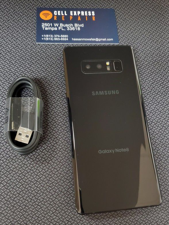 Samsung Note 8 Unlocked Like New Condition With 30 Days Warranty