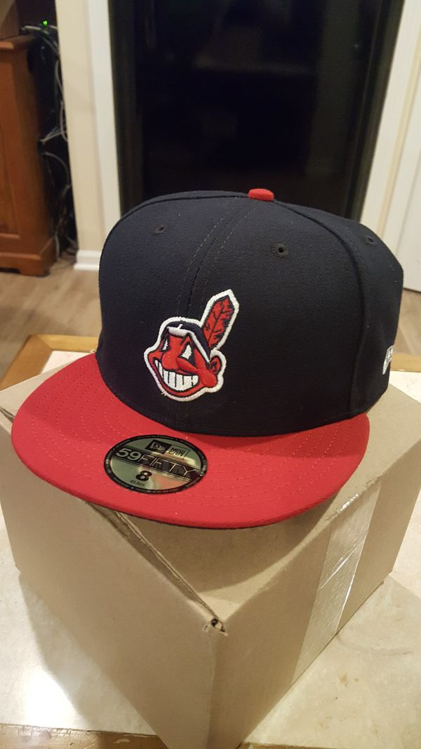 fa27b75fc7d Cleveland Indians Chief Wahoo Baseball Cap for Big Fat Heads XL for ...