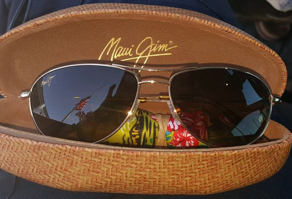 ca81739cd99 Brand New ~ Maui Jim Baby Beach Aviator Polarized Sunglasses ~ Never Worn ~  Retail $299 Price is $270 Firm ~ Proof of Purchase