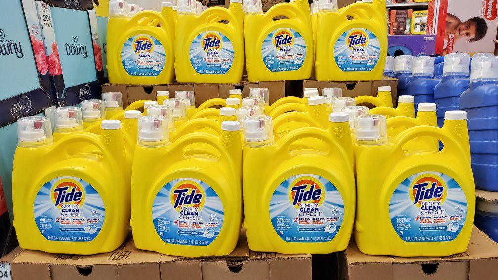 Suprema Wholesale Outlet Tide Detergent 138oz