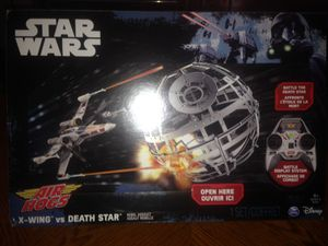Photo Air Hogs X-Wing vs Death Star Rebel Assault Drones