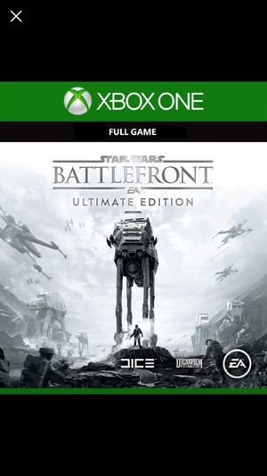 Star Wars battlefront ultimate edition XBOX ONE for Sale in Arlington, VA