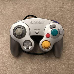 Platinum silver gamecube nintendo controller for Sale in Aspen Hill, MD