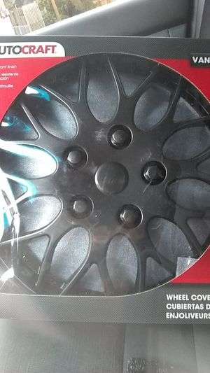 "(4) 15"" wheel covers NEVER OPENED for Sale in St. Louis, MO"
