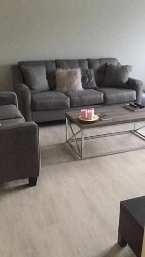 3 seat sofa + 2 seat sofa + pillows for Sale in Boston, MA