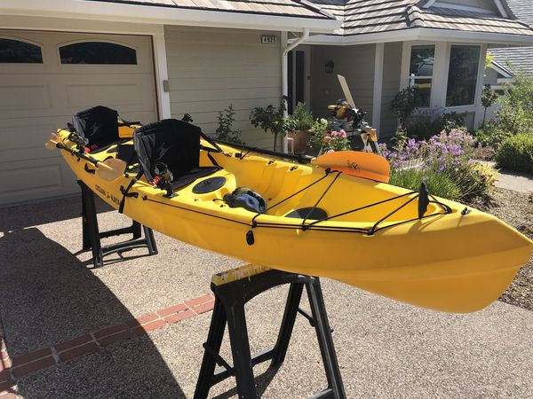 Ocean Kayak Zest Two Expedition Tandem Sit on Top Touring 16 feet for Sale  in Pleasanton, CA - OfferUp