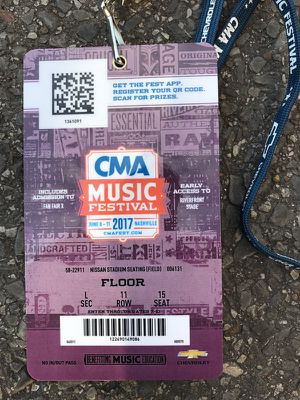 CMA TICKETS FOR SALE for Sale in Nashville, TN