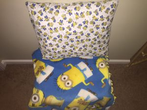 Minions Fleece Throw for Sale in Cleveland, OH