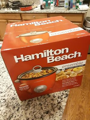 NEW Hamilton Beach 20-Cup Capacity Rice Cooker // Call or text at {contact info removed} for Sale in Rockville, MD