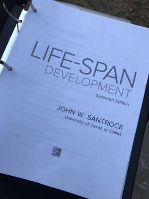 lifespan development 16th edition santrock