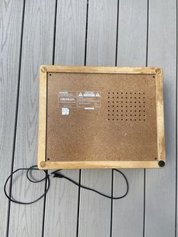 Crosley Wooden CR47 Record Player  Thumbnail
