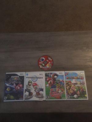 Wii Mario games bundle for Sale in Edgewood, WA
