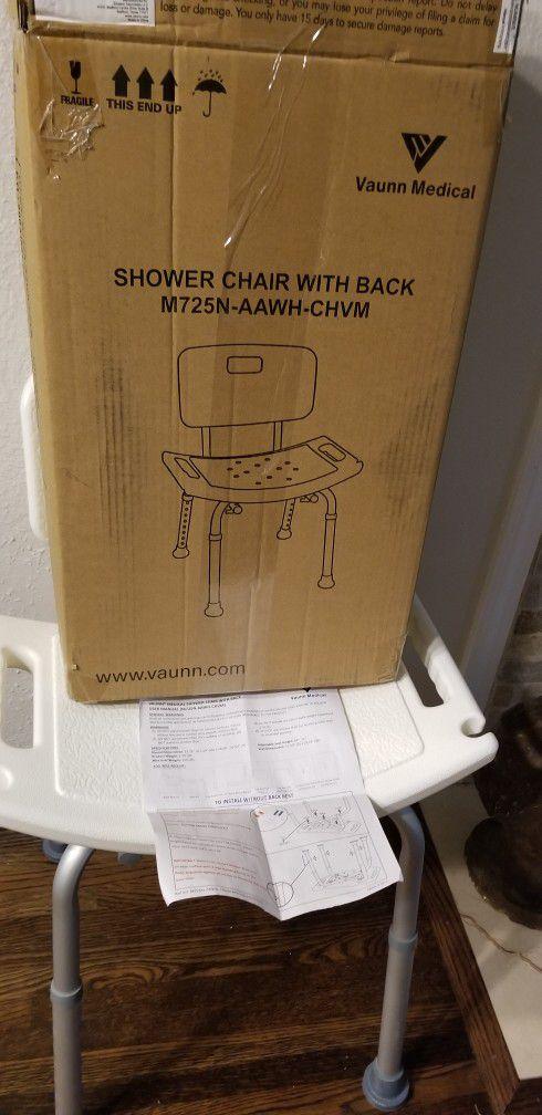 Medical Shower Chair - Vaunn Medical