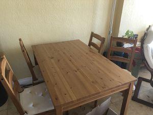 Jokkmokk ikea dining set for Sale in North Bay Village, FL