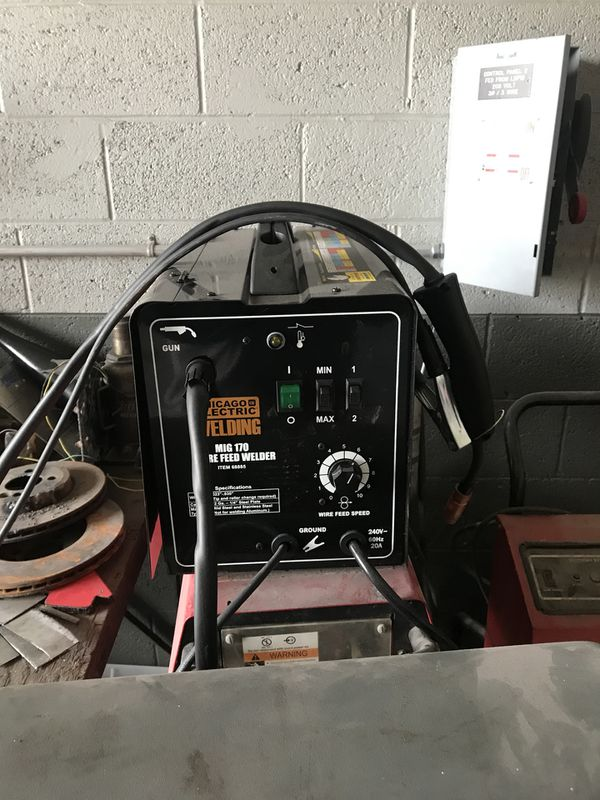 Chicago Electric Welder Wire Feed Motor