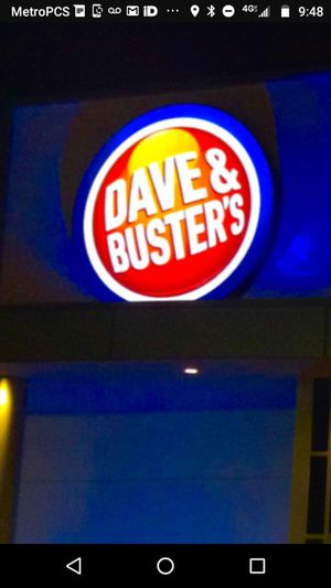 Dave an Buster's 100 power card for games for Sale in Washington, DC