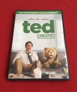 Ted DVD Movie Like New for Sale in San Diego, CA