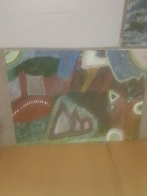 Abstract Art oil painting for Sale in Westminster, CA