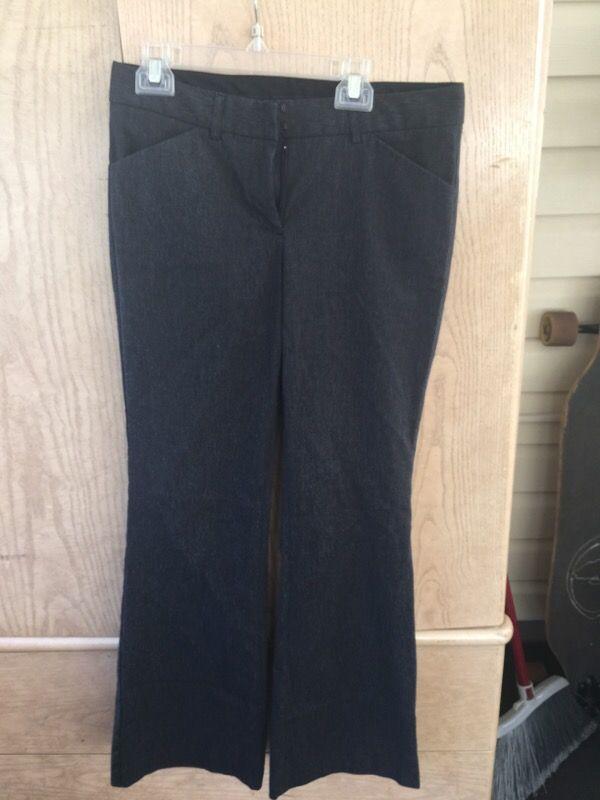 Dark grey slacks