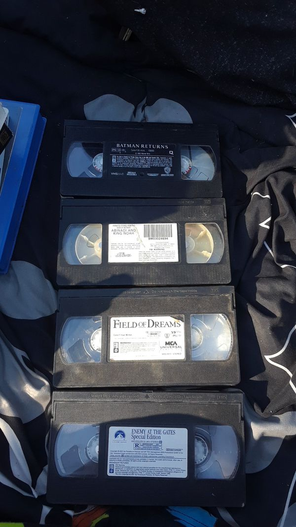 Vhs For Sale In Modesto Ca Offerup