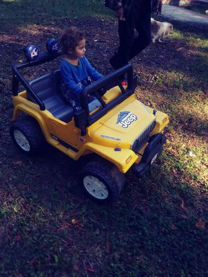 Kids drive around jeep for Sale in Fort Belvoir, VA