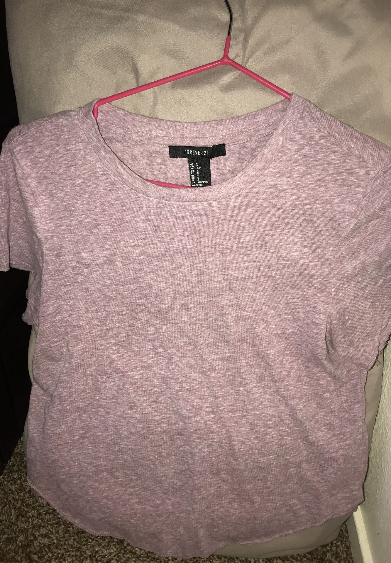 Light Purple Forever21 Shirt , Size Small