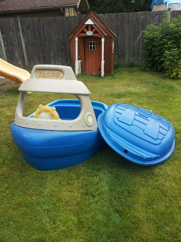 Step 2 Tuggy Boat Sandbox For Sale In Des Moines Wa Offerup