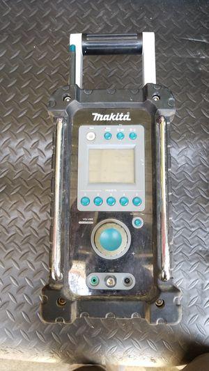 Makita 18v lithium ion job site radio for Sale in Fairfax, VA